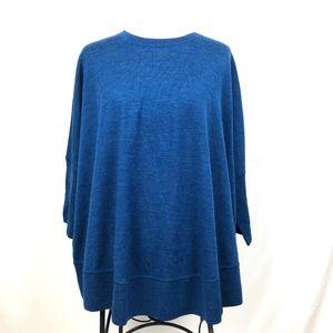 J. Crew 100% Merino Wool Sweater Top Dolman Sleeve